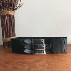 BRAVE 3 Buckle Leather Belt